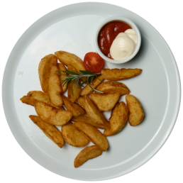 Хрупкави картофи