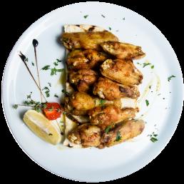 Пилешки крилца с мед и къри